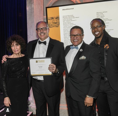 In February 2019, HRDC's Executive Director Paul Wright received the prestigious Frederick Douglass 200 award for his prisoners rights and anti-censorship advocacy work.